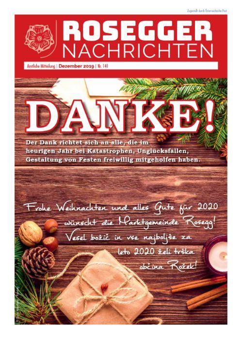 Gemeindezeitung 141 Dezember 2019