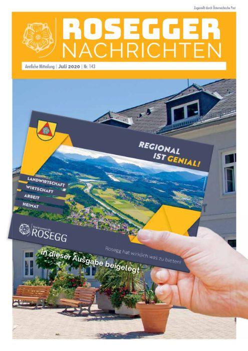 Gemeindezeitung 143 Juli 2020