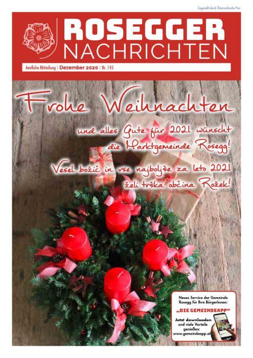 Gemeindezeitung 145 Dezember 2020